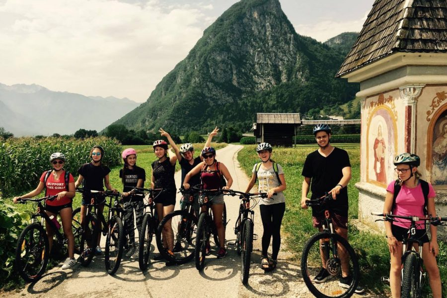 Explorer Camps Lake Bohinj Senior Campers Biking