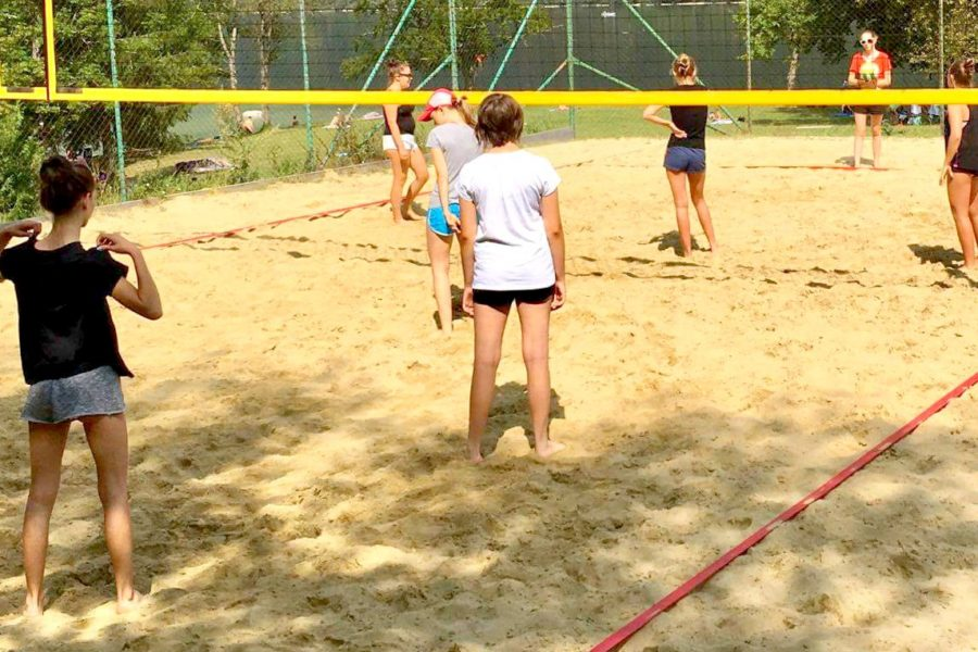 Explorer Camps Lake Bohinj Senior Campers Volleyball